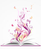 Background with open  book Royalty Free Stock Photography