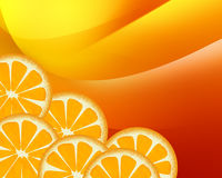Background - Orange Royalty Free Stock Photography