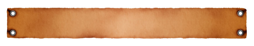 Background in orange-brown with openings. Background in orange and brown with openings on corners on white royalty free illustration
