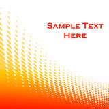 Background with orange circles. Background with orange circles and copyspace Royalty Free Stock Photo