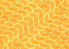 Background of orange circles. Background of fresh orange slices royalty free stock photo