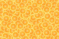 Background of orange circles. Background of fresh orange slices stock photography