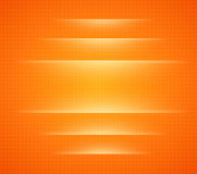 Background orange with dots Stock Photos