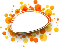 Background with orange drops. Stock Photo