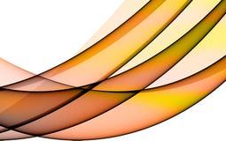 Background with orange lines. Orange lines on white background Royalty Free Stock Image