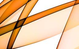 Background with orange lines. Orange lines on white background Royalty Free Stock Images