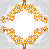 Background orange pattern banner Stock Photos