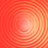 Background of orange and red spirals Royalty Free Stock Image