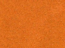 Background of orange sandpaper Royalty Free Stock Photos