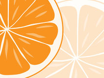 Background of orange slices. Stock Photo