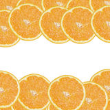 Background from orange slices Stock Photography
