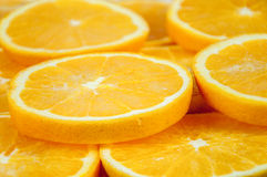 Background of orange slices Royalty Free Stock Images