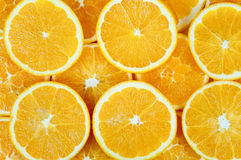 Background of orange slices Royalty Free Stock Image