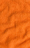Background of orange terry cloth Royalty Free Stock Photo