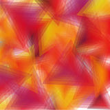 Background orange triangles Royalty Free Stock Photography