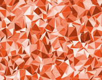 Background with orange triangles Royalty Free Stock Photos