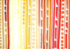 The background orange, yellow and brown spots, circles and strip Stock Photography