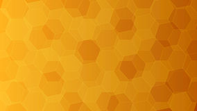 Background with orange and yellow honeycombs. Vector illustration. Background with orange and yellow honeycombs. Elements for your design vector illustrationnn Stock Photos