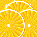 Background with oranges. Background with citrus-fruit of orange slices Royalty Free Stock Images