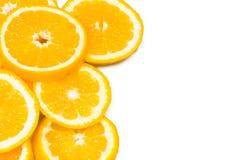Background with oranges Stock Photo