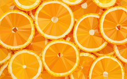 Background_Oranges_01 ilustração royalty free