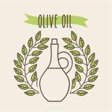 Background organic icon Stock Photography