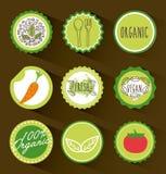Background organic icon Stock Photo