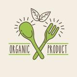 Background organic icon royalty free illustration