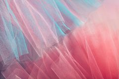 Background with organza cloth Stock Image