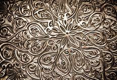Background with oriental ornaments Stock Image