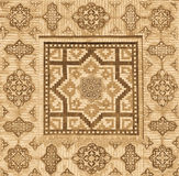 Background with oriental ornaments Stock Images