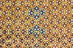 Background with oriental ornaments Royalty Free Stock Image