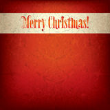 Background with original font text Merry Christmas Stock Photo