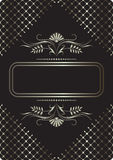 Background with ornament Royalty Free Stock Photos