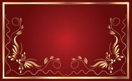 Background with ornament Stock Photography