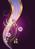 Background with ornament Stock Image