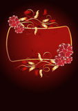Background with ornament Royalty Free Stock Photo