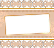 Background with ornament Royalty Free Stock Image