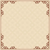 Background with ornament in corners - vector. Eps 8 Royalty Free Stock Photos
