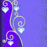 Background with ornament with precious  Stock Photos