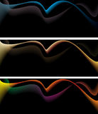 Background ornament with three different colors Stock Images