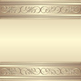 Background. Ornamental background with copy space Stock Images