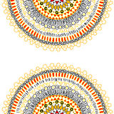 Background with ornamental lace. Vector illustration Background with ornamental lace Royalty Free Stock Photography