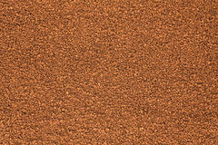 Background out of granulated coffee Stock Image