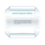 Background page design element Business Report Stock Photography