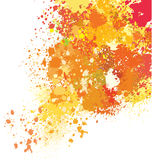Background of paint splashes. Color vector background of paint splashes Royalty Free Stock Photo