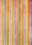 Background of painted wood. Vertical multicolored striped background of painted wood Stock Photo