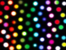 Background with painting and light, colorful. Abstract image, background of colourful light dots Royalty Free Stock Photography