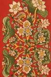 Background-Painting lotus Stock Photo