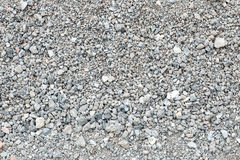 Background of pale crushed stone Royalty Free Stock Photo